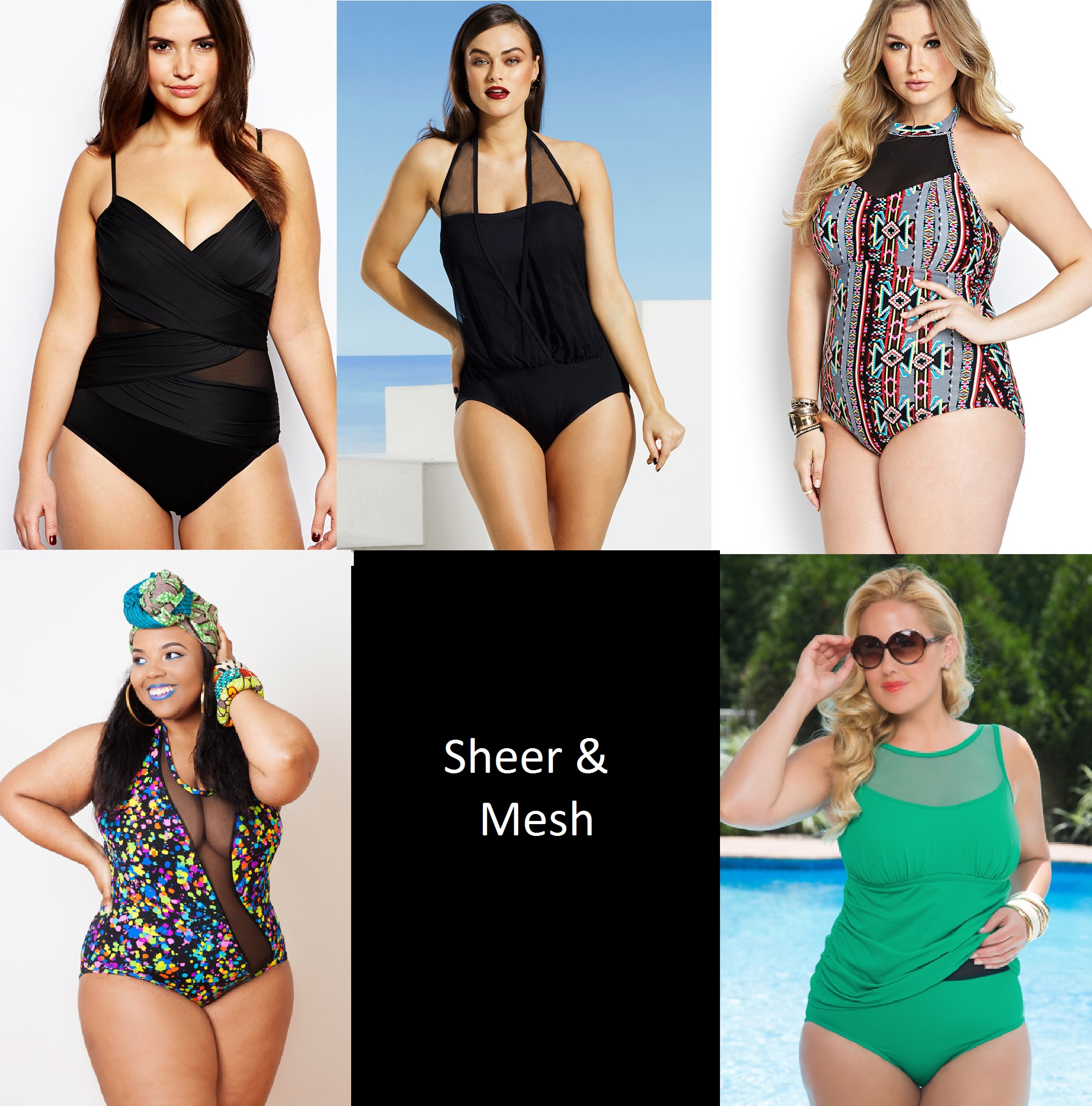 plus size swimsuit trends for summer | stylish curves